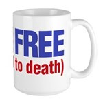 Born Free Large Mug