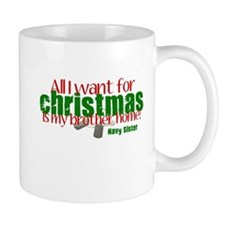 All I want Brother Navy Siste Mug