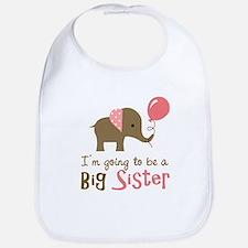 Big Sister to be - Mod Elephant Bib