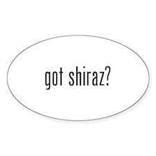 Got Shiraz Decal