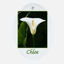 Chloe Ornament (Oval)