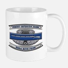 US Army CIB Worn With Pride Mug
