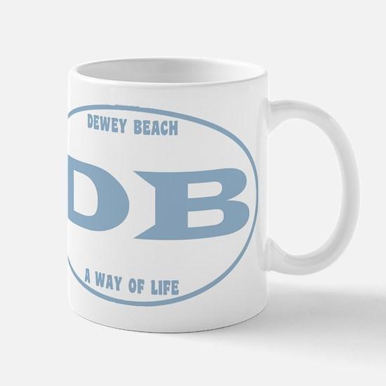 Dewey Beach Euro Mug