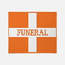 Funeral Throw Blanket
