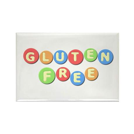 Gluten Free Rectangle Magnet (100 pack)