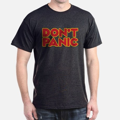 Dont Panic Dark T-Shirt