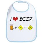Beer + car Bib