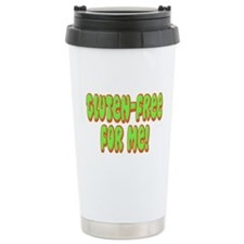 Gluten Free For Me Celiac Travel Mug