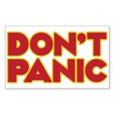 Dont panic Stickers