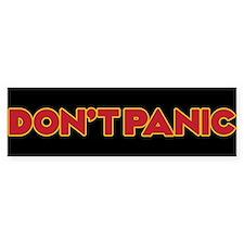 Dont Panic Car Sticker Bumper Car Sticker