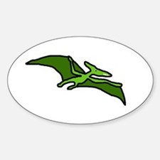 Pterodactyl Oval Decal