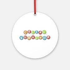 Celiac Survivor Ornament (Round)