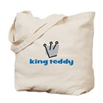 King Teddy Tote Bag
