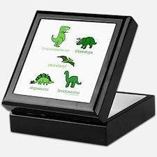 Dinosaurs Galore Keepsake Box