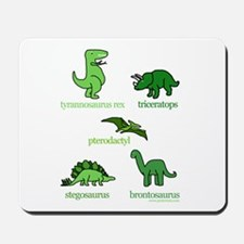 Dinosaurs Galore Mousepad
