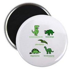 Dinosaurs Galore Magnet