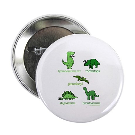 Dinosaurs Galore Button