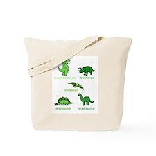 Dinosaurs Galore Tote Bag