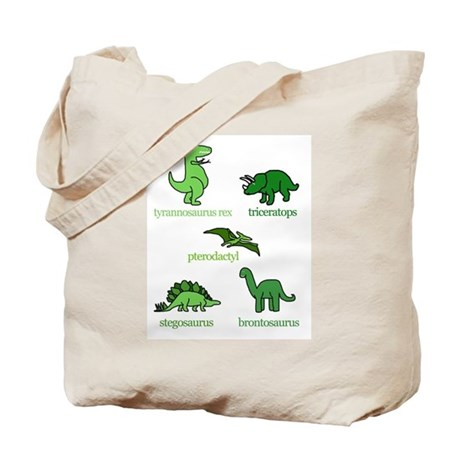 Dinosaurs Galore Tote Bag