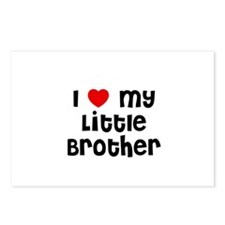 I * My Little Brother Postcards (Package of 8)