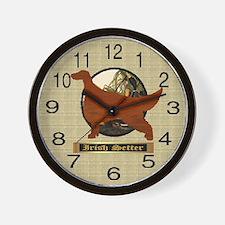 Irish Setter Gifts Wall Clock