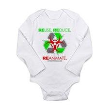 REUSE. REDUCE. REANIMATE. Long Sleeve Infant Bodys