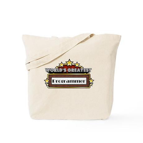 World's Greatest Programmer Tote Bag