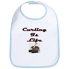 Curling is Life Bib