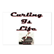 Curling is Life Postcards (Package of 8)