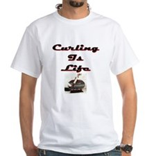Curling is Life Shirt