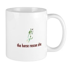 Unique Equine rescue Mug