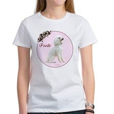 """Poodle in Pink"" Women's T-shirt"