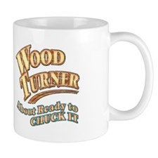 """Wood Turner"" Small Mug"