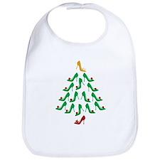 High Heel Shoe Holiday Tree Bib