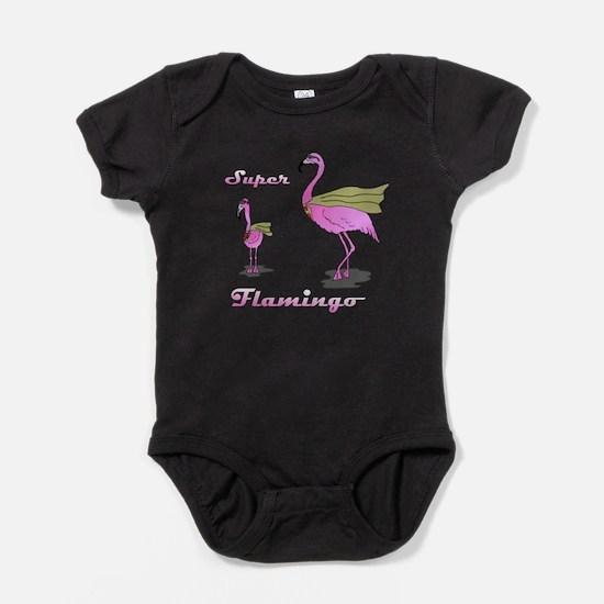 Super Flamingo Body Suit