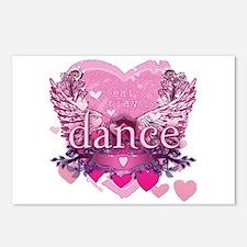 Eat Pray Dance by Danceshirts.com Postcards (Packa