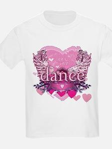 Eat Pray Dance by Danceshirts.com T-Shirt