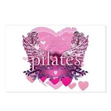 Eat Pray Pilates by Svelte.biz Postcards (Package
