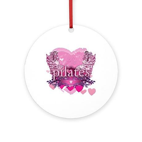 Eat Pray Pilates by Svelte.biz Ornament (Round)