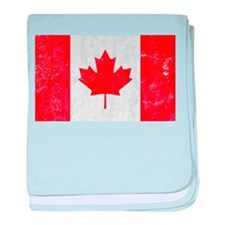 Canadian Flag baby blanket