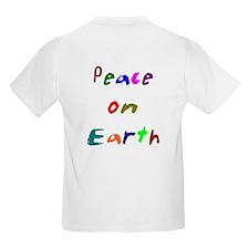 Peace on Earth Kids T-Shirt