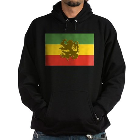 Rasta Lion of Judah Hoodie (dark)