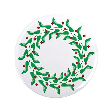 "High Heel Shoe Holiday Tree 3.5"" Button"