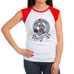 Bannerman Clan Badge Women's Cap Sleeve T-Shirt