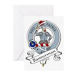 Bannerman Clan Badge Greeting Cards (Pk of 10)