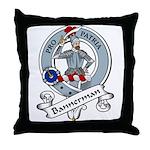 Bannerman Clan Badge Throw Pillow