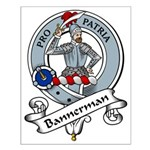 Bannerman Clan Badge Small Poster