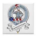Bannerman Clan Badge Tile Coaster