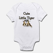 Cute Little Tiger Infant Creeper Body Suit