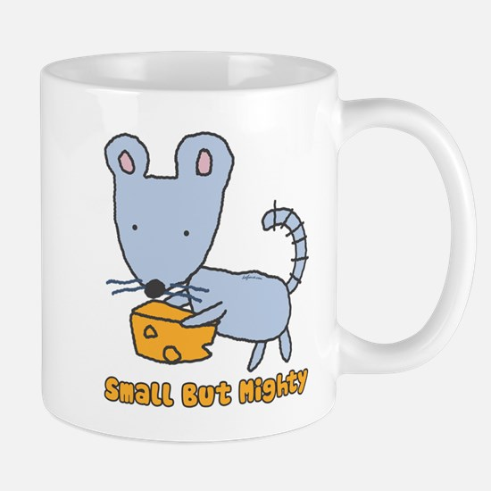 Small But Mighty Mouse Large Mugs